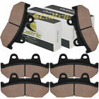 Caltric Brake Pads for Honda CB1100F CB1100F Supersport Front Rear Brakes 1983