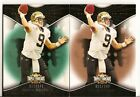 (2) 2009 Triple Threads Drew Brees Emerald 149 and Sepia 249