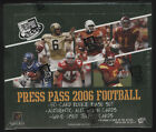 2006 PRESS PASS Football - Factory Sealed Hobby Box