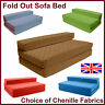 Fold out Sofa Bed Z Guest Bed Double Futon Kids Bedroom Playroom Furniture Gilda