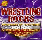 VARIOUS ARTISTS  -  WRESTLING ROCKS: ANTHEMS OF THE RING  -  CD, 1999
