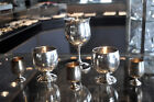 Set of 6 Sterling Silver Shot glasses and Cups Reed & Barton, B & M Silver Nice!