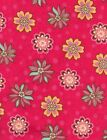 Heritage Studio Collection~1 YARD~FLANNEL~Quilt Fabric~GROOVY FLOWERS~