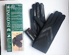 Isotoner Women Classic Thinsulate Lined Stretch Winter Gloves Black  XL  IN BOX