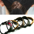 Synthetic Elastic Hair Band Tie Ponytail Hair Extensions Holders Accessory HCT-A