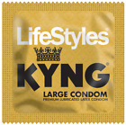 Lifestyles KYNG Large Bulk Condoms - Choose Quantity