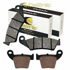 BRAKE PADS FITS HONDA CR125 CR125R 2002 2003 2004 2005 2006 2007 FRONT REAR PADS