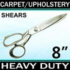 8 HEAVY DUTY CARPET UPHOLSTERY SHEARS TAILOR SCISSORS Fabric Leather TRS8
