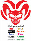 2 x DODGE RAM STYLE SKULL DECALS STICKERS LARGE 12x 10 Challenger Charger