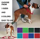 Step In Pet Dog Nylon Harness Adjustable Easy to Use Two Step Walking 8 Colors