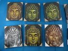 6 pcs lot Buddha abstract art airbrush painting on canvas Ship From US Canada