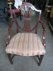 Antique Late 18th Early 19th Century Mahogany Shield Back Armchair