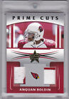 2006 Leaf Rookies and Stars Prime Cuts Combos #12 Anquan Boldin Jersey 09 25