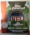 2005 Topps FINEST NFL Football Cards - Factory Sealed Hobby Box
