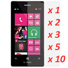 Crystal Clear LCD Screen Protector Film Cover 4 Nokia Lumia 521 tmobile lot