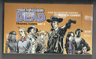 Walking Dead Trading Cards Set 2 SEALED hobby box