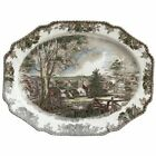 Johnson Brothers Friendly Village 19.5-Inch Turkey Platter NEW FREE SHIP