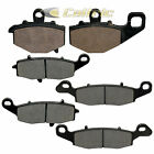 FRONT & REAR BRAKE PADS KAWASAKI ZR750 Z750S 2005 2006 2007 FRONT & REAR PADS