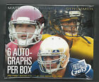2013 Press Pass Football SEALED Hobby Box - 6 autos