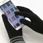 iGloves Touch Lambs Wool Smartphone Gloves by VASTAN INC._cuff striped_101