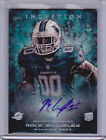 2013 Topps Inception Football Cards 28