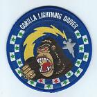 58th FIGHTER SQUADRON GORILLA LIGHTNING DRIVER !!NEW!! patch