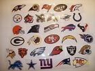 1 NFL Logo Sticker Football Vending all teams available YOU PICK ONE