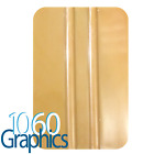 GOLD PLASTIC APPLICATION SQUEEGEE VINYL LETTERING STRIPE WINDOW TINT DECAL TOOL