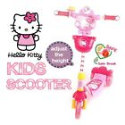 [Hello Kitty] NEW Kick Scooters 3 Wheel Junior Kids Children Kick Board / Break