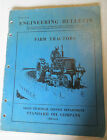Standard Oil Company Service Bulletin For Farm Tractors (FT-53)