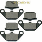 Front & Rear Brake Pads for Kawasaki ZN700 Ltd Shaft 1984 1985
