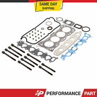 Head Gasket Bolts Set 92 01 Suzuki Swift Sidekick Esteem GEO Chevrolet 16 G16KV