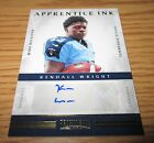 KENDALL WRIGHT 2012 PANINI PROMINENCE AUTO AUTOGRAPH #'D 10