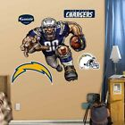 San Diego Chargers NFL Cartoon Fathead-Grinding it out Mural or Bolting Charger