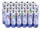 24x AA 3000mAh 2A 1.2 V Ni-MH Rechargeable Battery BTY Cell for MP3 RC Toys