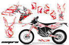 BMW G450X 2010 2011 GRAPHICS KIT CREATORX DECALS STICKERS SAMURAI RWNP
