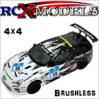 RC Car Rally Race 4WD Remote Control Fast Brushless Electric Ver Of Nitro Petrol