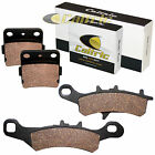 Front & Rear Brake Pads for Kawasaki KX100 1997-2020