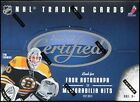 2011 12 Panini Certified Hockey Hobby 3 Box Lot
