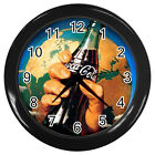 Wall Clock Coca Cola World Ads  - Coca-Cola Retro Ads Retro Rare Design!