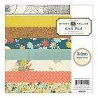 Crate Paper STORY TELLER 6 x 6 Paper Pad 36 sheets