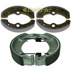 FRONT & REAR BRAKE SHOES YAMAHA KODIAK 400 YFM400FW 1993 94 1995 1996 1997 1998