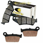 Caltric Front and Rear Brake Pads for Suzuki RMZ250 RM-Z250 2004-2017
