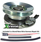 PTO Blade Clutch For White 717 05121 Electric w Wire Harness Repair Kit
