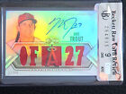 Mike Trout 2012 Topps Triple Threads BGS 9 auto 10 #27 99 Jersey # 1 1 Raw Card