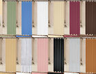 1PC SOLID VINYL BATHROOM SHOWER CURTAIN LINER WITH METAL GROMMETS MANY COLORS