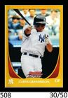 Curtis Granderson Cards, Rookie Cards and Autographed Memorabilia Guide 6