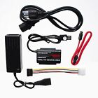 IDE SATA HDD drive adapter cable converter USB 20 to 25 35 with power cord SW