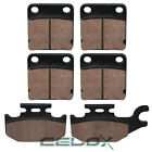Front Rear Brake Pads For Yamaha Kodiak 400 YFM400 2000 2001 2002
