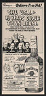 1975 JIM BEAM Kentucky Whisky - 6 Generations of the JIM BEAM FAMILY VINTAGE AD